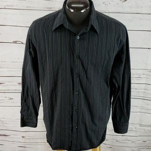 Perry Ellis large long sleeve button down shirt
